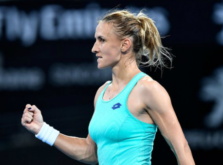 Цуренко уверенно вышла в ¼ финала теннисного турнира вХобарте