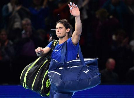 Итоговый турнир года АТР: испанец Надаль снялся с состязаний из-за травмы колена