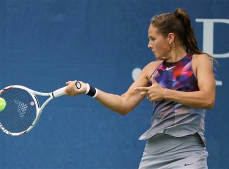 Дарья Касаткина несмогла выйти вчетвертьфинал Открытого чемпионата США
