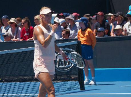 Веснина иМакарова вышли втретий круг парного разряда Australian Open