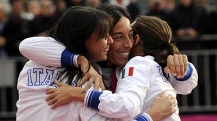 2. Пеннетта и Винчи принесли Италии победное очко