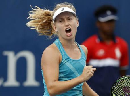 Австралийская теннисистка Гаврилова испугалась кошки на«Кубке Кремля»