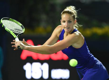 Чешская теннисистка проиграла матч, засунув палец ввентилятор