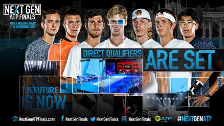 Трое русских теннисистов квалифицировались намолодёжный итоговый турнир ATP