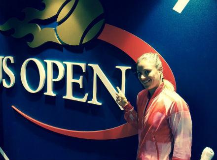 Немецкая теннисистка Анжелика Кербер вышла вчетвертьфиналUS Open 2016