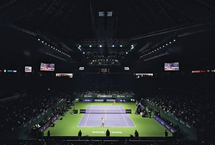 Итоговый чемпионат WTA. Расписание второго игрового дня
