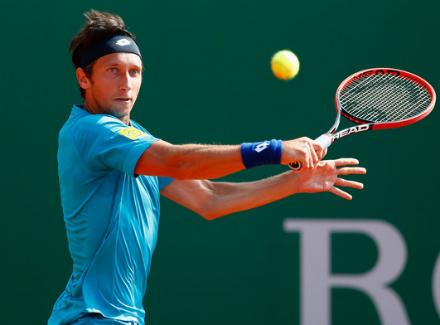 Теннисист Сергей Стаховский не смог преодолеть барьер второго раунда Отк