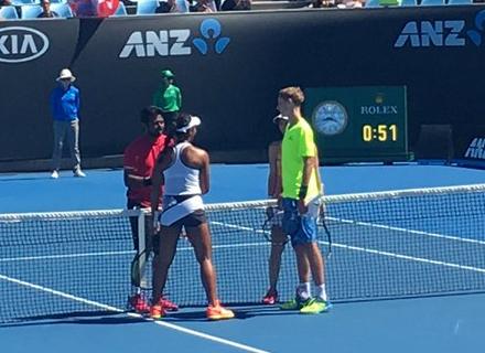 Веснина иМакарова вышли вчетвертьфинал Australian Open впарах