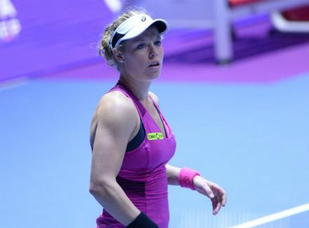 Лаура Зигемунд покидает турнир в Куала-Лумпуре