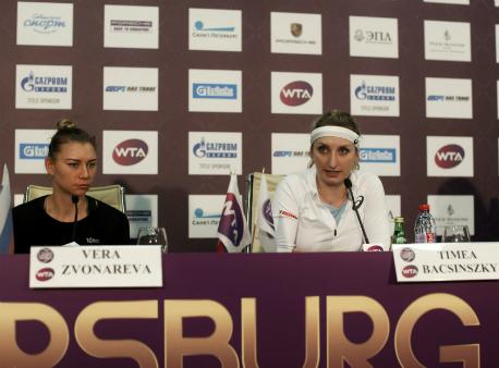 Звонарева выиграла турнир в северной столице впаре сБачински
