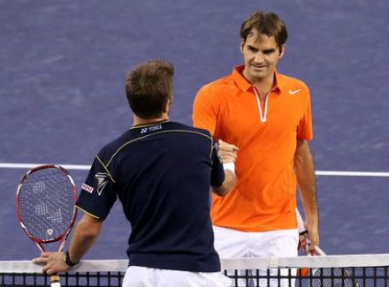 Роджер Федерер поздравил соотечественника с выдающейся победой