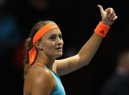 Теннисистка Вихлянцева уступила вполуфинале питерского турнира WTA