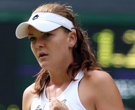 польская теннисистка