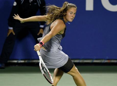 Касаткина шагнула во 2-ой раунд теннисного турнира вУхане