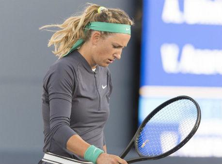 Азаренко несмогла доиграть четвертьфинал WTA вСан-Хосе из-за травмы