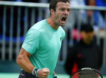 Теннисист Габашвили вышел восновную сетку турнира Большого шлема «Ролан Гаррос»