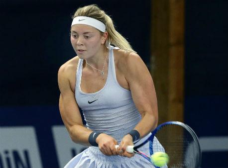 Русская теннисистка отчизна вышла во 2-ой круг турнира вЛюксембурге