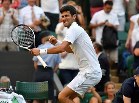 Новак Джокович сыграет вполуфинале Wimbledon