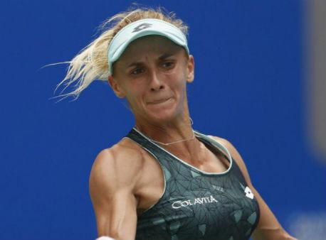 Леся Цуренко несмогла победить барьер первого раунда турнира вТяньцзине