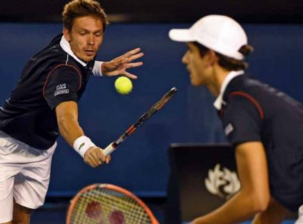 Континен иПирс одержали 3-ю победу вгруппе наИтоговом чемпионате ATP
