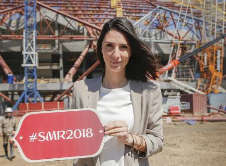 Теннисистка Анастасия Мыскина стала послом Самары наЧМ