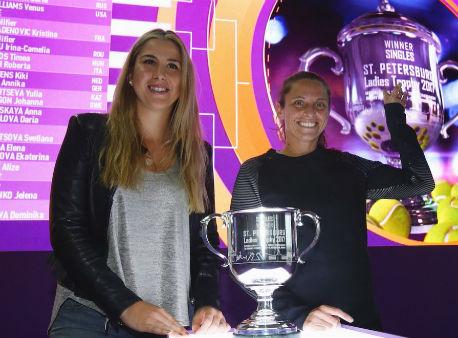 Павлюченкова сыграет сМакаровой настарте турнира WTA в северной столице