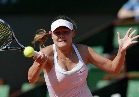 Дьяченко проиграла Говорцовой вчетвертьфинале турнира вТайбэе
