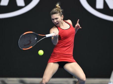 Первая ракетка мира Халеп едва вышла вчетвертый раунд Australian Open