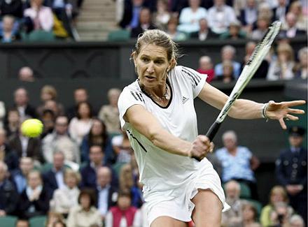 Wimbledon - великолепная семёрка. Штеффи Граф