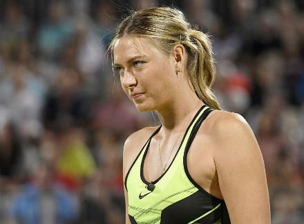 Теннисистка Шарапова вышла накорт наблаготворительном турнире вСША