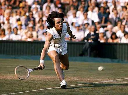 Wimbledon - великолепная семёрка. Билли Джин Кинг
