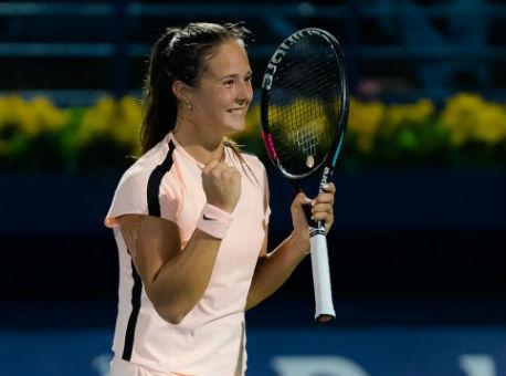 Касаткина вышла вфинал турнира WTA вДубае