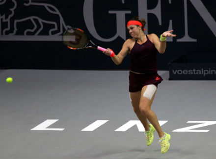 Павлюченкова вышла вчетвертьфинал турнира вЛинце