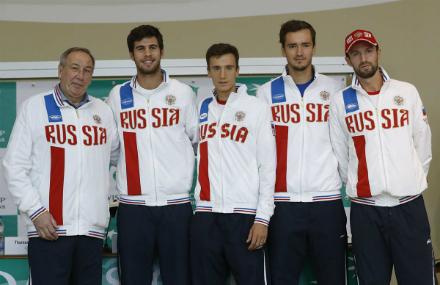 Состоялась жеребьёвка матча Кубка Дэвиса между сборными Сербии и РФ