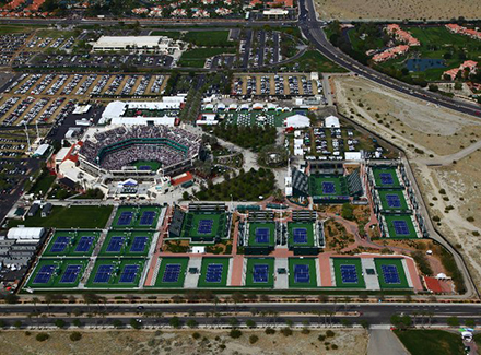 Дом тенниса. Часть третья - Indian Wells Tennis Garden в Индиан-Уэллсе