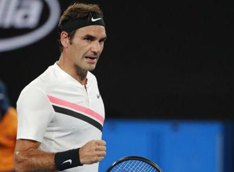 Роджер Федерер одержал вторую победу наAustralian Open