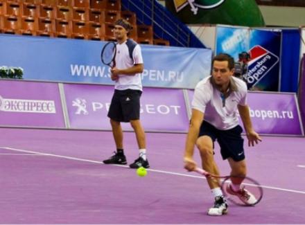 Кравчук иКузнецов вышли вчетвертьфинал SpbOpen-2016 впарном разряде