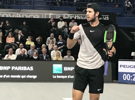 Русский теннисист Карен Хачанов одержал победу турнир вМарселе