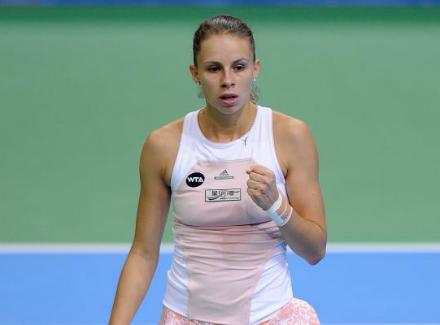 Калинская обыграла Гарсия, одержав первую победу натурнирах WTA