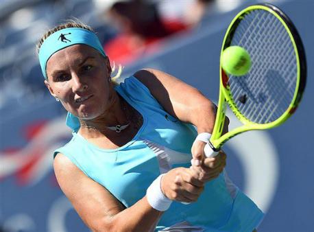 Кузнецова одолела чешку Вондроушову ипробилась во 2-ой кругUS Open
