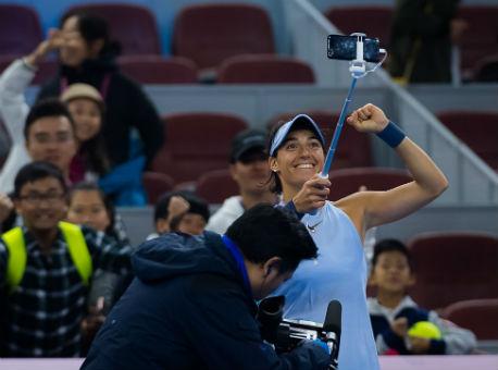 Француженка Каролин Гарсия вышла вфинал теннисного турнира встолице Китая