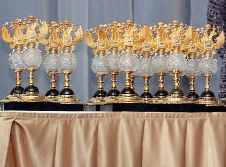Макарова иВеснина получили награду «Русский кубок» в категории «Золотой дуэт»