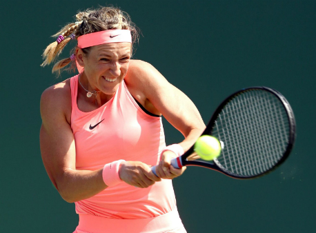 Виктория Азаренко уверенно пробилась в1/8 финала турнира вМайями