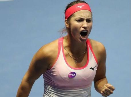 Мария Шарапова вышла вчетвертьфинал турнира вТяньцзине