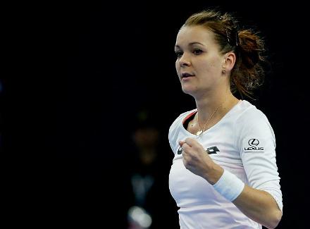 Польская теннисистка Агнешка Радваньская одолела натурнире встолице Китая