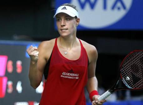 Павлюченкова обыграла Кербер ивышла вфинал турнира WTA вТокио