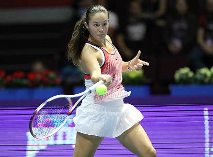 Возняцки обыграла Касаткину встартовом раунде турнира вДубае