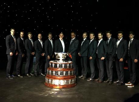 Сборная Франции в десятый раз выиграла Кубок Дэвиса
