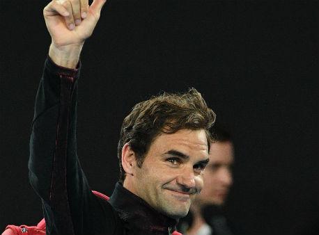 Федерер обыграл Бердыха ивышел вполуфинал Australian Open