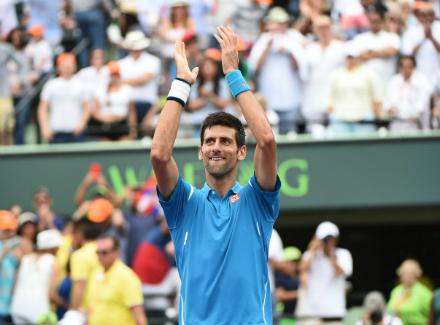 Сербский теннисист Новак Джокович одержал победу турнир вМайами